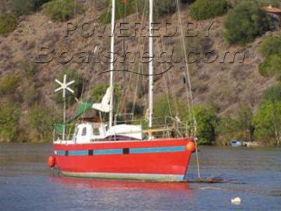 Steel Staysail schooner