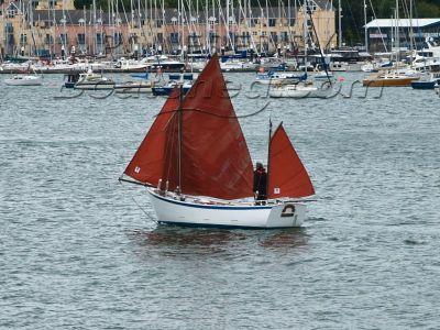 Breton Crabbing Lugger