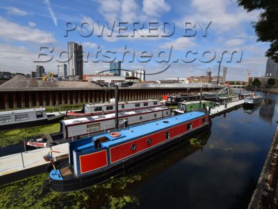 Narrowboat 52ft with London mooring