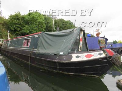 Narrowboat 55ft Trad Stern
