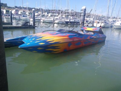 Ocean Rocket 36 speed boat