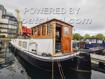 Dutch Barge 62ft with London mooring