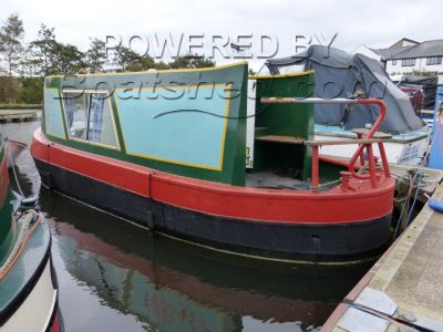 Narrowboat 23ft Cruiser Stern