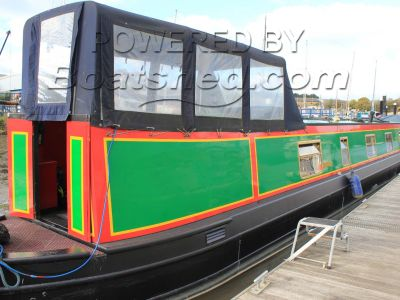 Narrowboat 58ft Semi Trad