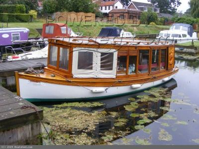 Classic Broads Cruiser Edwardian Launch