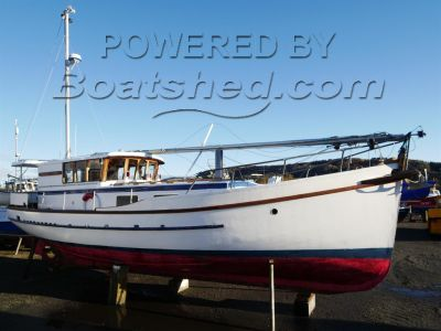 Converted MFV 39' Ketch Motor Sailor