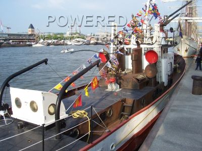 Ex Workboat Fireboat operational unconverted