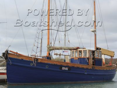 Scottish Herring Drifter 14 metre