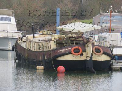 Dutch Barge Tjalk live aboard barge