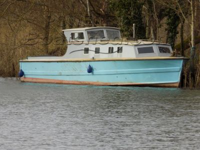 Brooke Marine Seaplane Tender Project boat (ex.FT905 - ex.ST461) REDUCED FOR QUICK SALE!