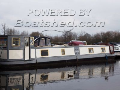 Cain Narrowboat 57'