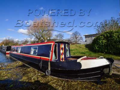 Narrowboat 45ft Semi Trad