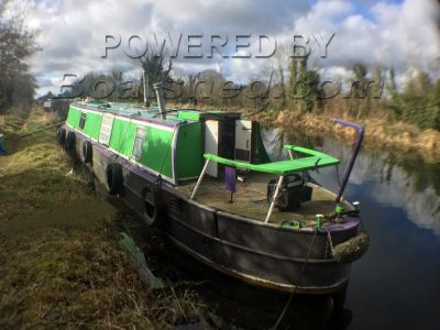 Narrowboat 48ft Cruiser Stern