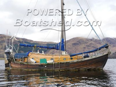 Ian Richardson 34' Wooden Sloop - Bluewater Cruiser