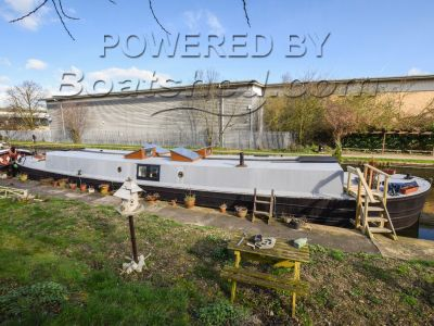 Converted Barge Houseboat With London Mooring
