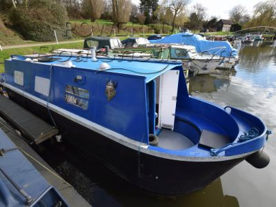 Narrowboat 28ft Cruiser Stern