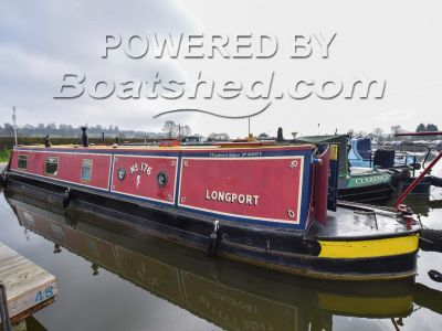 Narrowboat 50ft with Mooring