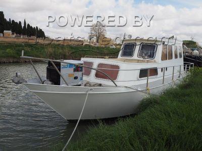 Steel Motor Cruiser 36 live aboard river cruiser