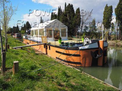 Barge Conversion Cert. Communautaire dispo. valable jusqu'en 2020