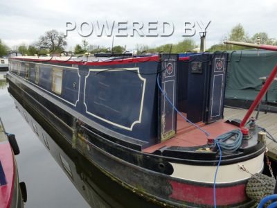Paul Widdowson 55ft Narrowboat Semi Trad