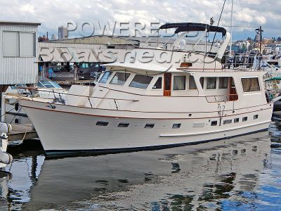 DeFever 60 Flush Deck Trawler Built by Angel Marine, Taiwan