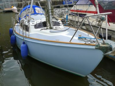 Van de Stadt Pioneer 10 Bristol Harbour mooring available