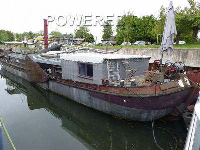 Dutch Barge Tjalk amarrage disponible proche Paris