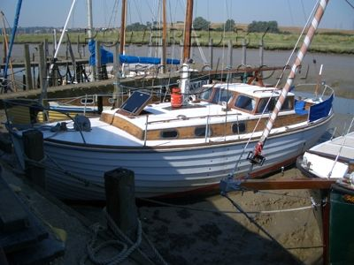 30ft Wooden Motor Sailer