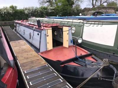 Mike Hayward Narrowboat 43ft trad stern