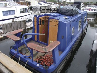 Sea Otter 31 Aluminium Narrowboat