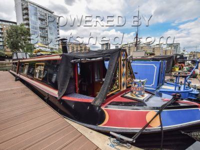 Narrowboat 50ft with London mooring