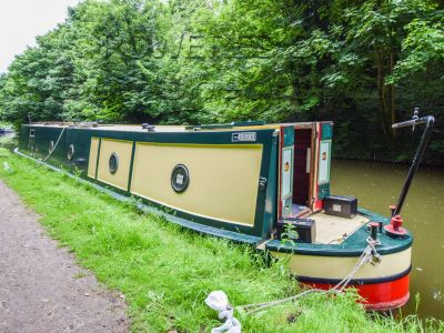 Narrowboat 50ft Trad Stern