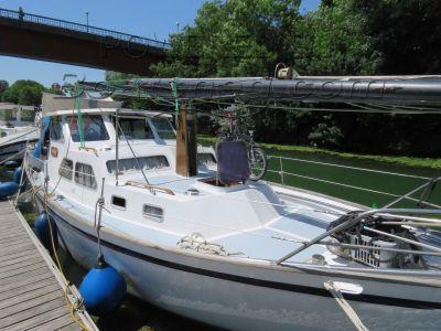 Motor Sailor 34 Fifty eaux intérieures