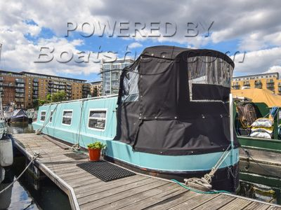 Narrowboat 37ft With London Mooring