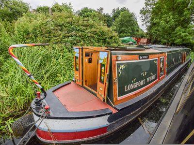 Narrowboat 53ft Trad Stern
