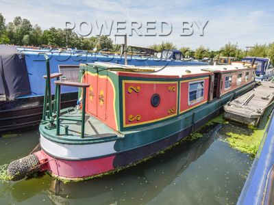 Narrowboat 47ft Trad Stern