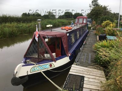 Narrowboat 50ft Semi Taditional