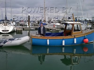 Isle Of Ewe 21ft Wooden Launch