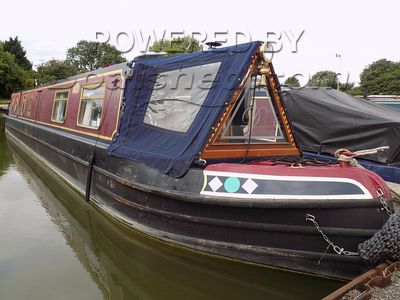Narrowboat 56ft Cruiser Stern
