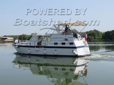 Dutch Steel River Cruiser BOORNCRUISER 38