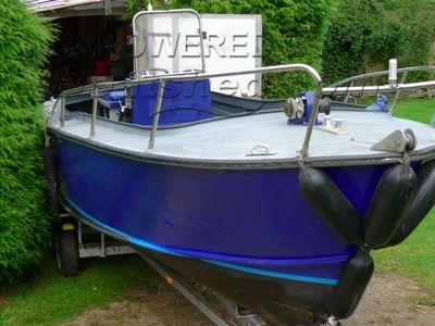 Aluminium Day Boat