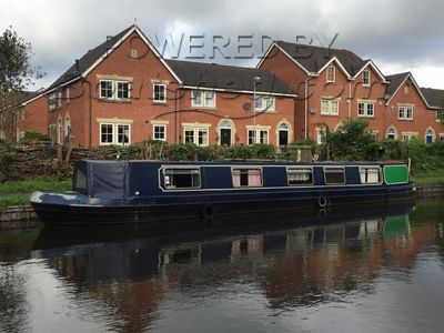Narrowboat 54ft Trad Stern