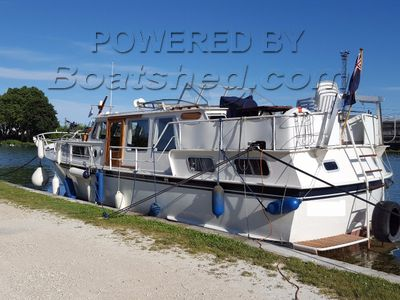 Dutch Steel Motor Cruiser BLAUWE HAND 1200
