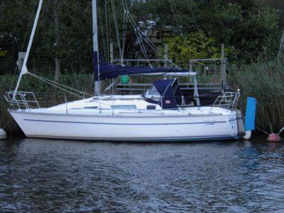 Parker 285 HS Lift Keel Yacht