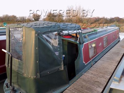 Narrowboat 40ft Cruiser Stern