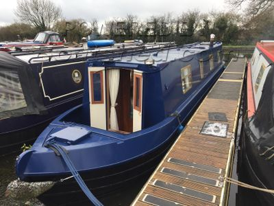 Narrowboat 45ft Trad Stern With Lancaster mooring