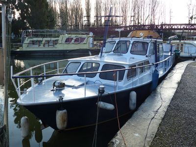 Dutch Steel River Cruiser DE GROOT - Palmacruiser 38 ft