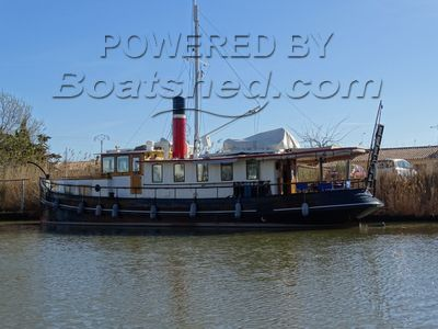 Converted Tug Liveaboard ancien remorqueur hollandais