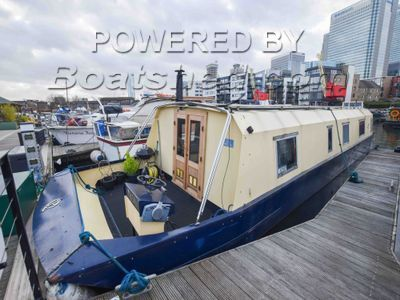 Wide Beam 43ft with London mooring