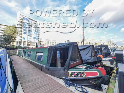 Narrowboat 62ft with London mooring